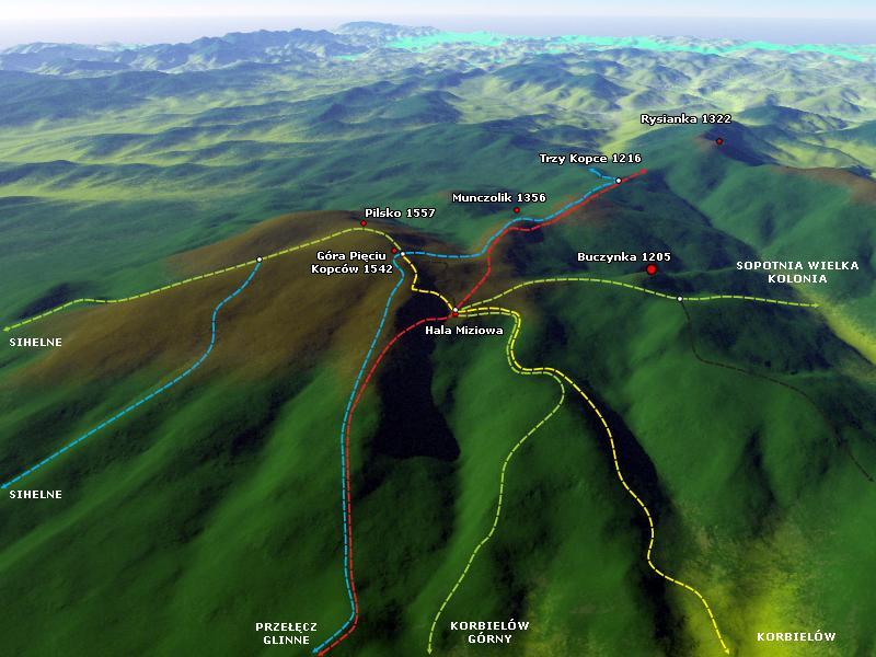 pilsko-szlaki