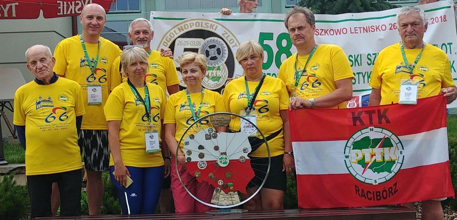 58 Zlot Przodowników Turystyki Kolarskiej w Boszkowie